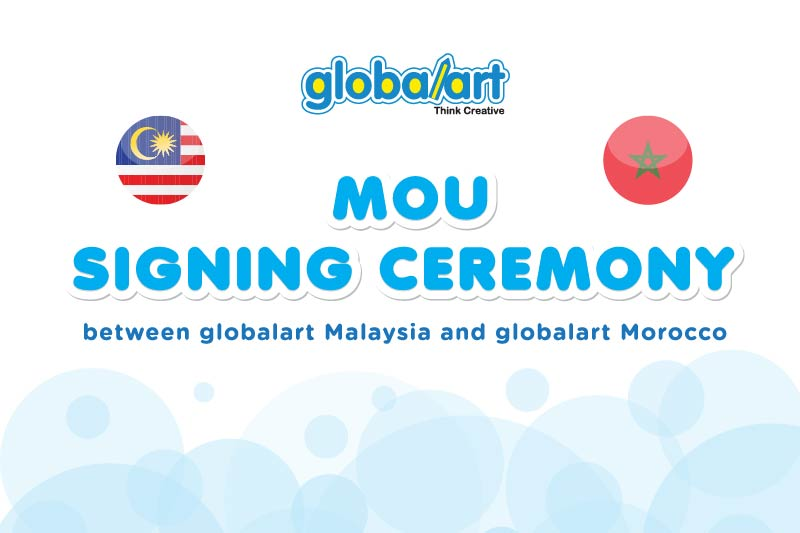 MOU Signing Ceremony of globalart Morocco