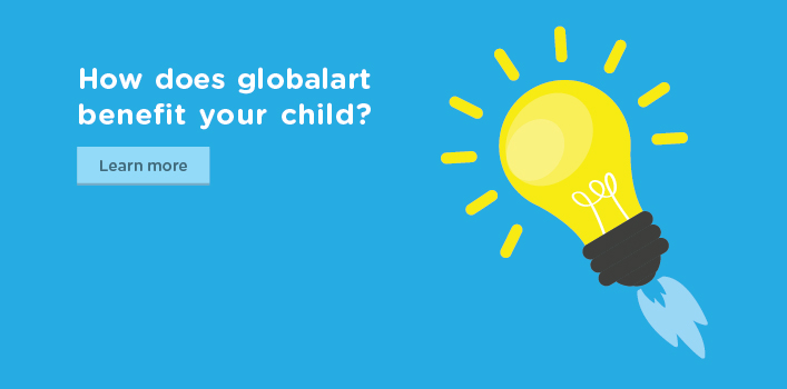 How does globalart benefit your child?